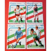 Куба 1989 Футбол Италия-90