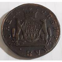 2 копейки 1773г КМ. Монета Сибирская. Состояние. Предложите Вашу цену.