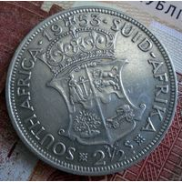 ЮАР. 2 1/2 шиллинга 1953 г.