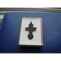 Редкий старинный нательный крестик       (3237)