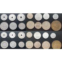 Монеты Монголии. Комплект 1959г и Комплект 1970-1981гг.есть остальные 3компл.