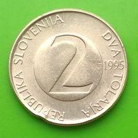 2 толара 1995 СЛОВЕНИЯ***