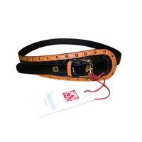 Эксклюзивный кожаный ремень итальянского бренда BRACCIALINI, 100 % оригинал MADE IN ITALY
