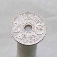 Франция 25 сатинмов 1928