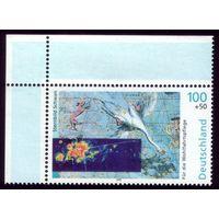 1 марка 1999 год Германия Созвездие Лебедя