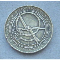 Чехия. 20 крон 2000 года.