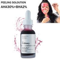 The Ordinary AHA 30% + BHA 2% Peeling Solution кислотный пилинг для лица
