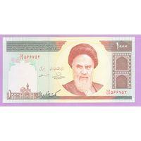 Иран 1000 риалов UNC