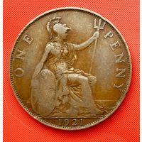 12-24 Великобритания, 1 пенни 1921 г.