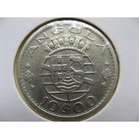 Ангола 10 эскудо 1952 г. серебро