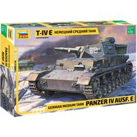 ЗВЕЗДА 3641 - Немецкий средний танк Т-IV E / Сборная модель 1:35