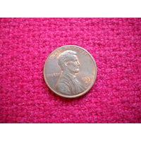США 1 цент 1983 г. D