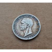 Италия, 5 лир 1927 г., серебро, Виктор Эммануил III (1900-1946)