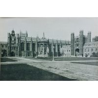 Кембриджъ. 24х 16см. конец 19 века.
