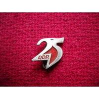 25 лет ГДР