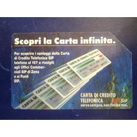 Италия телекарты 10.000 лир