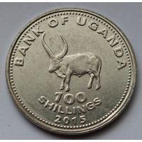 Уганда, 100 шиллингов 2015 г.