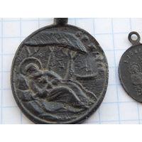 Медальон католический  ( состояние )