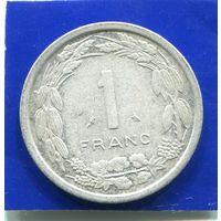 Центральная Африка 1 франк 1974