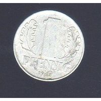 1 пфенниг Германия 1963_Лот #0384