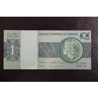 Бразилия 1 крузейро 1975 UNC