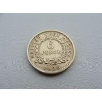 Британская Западная Африка.  6 пенсов 1938 год KM#22