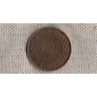 Канада 1 цент 1917 Георг V (Zo)