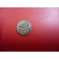 10 центов 1987 Новая Зеландия