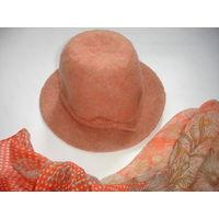 Шляпа женская винтаж 60-70е гг СССР