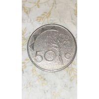 Намибия 50 центов 1993
