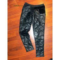 Утепленные стеганные штаны 44-46