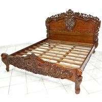 Богатая кровать Барокко. 180/200