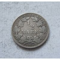 Германия 1/2 марки 1905 A (Берлин)