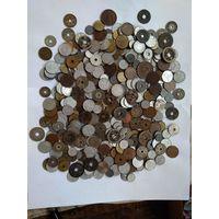 Супер лот 1 кг старой Японии 470 монет + серебро