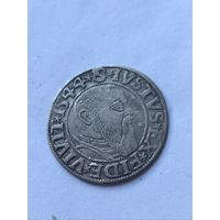 Грош 1544г. Пруссия (широкая борода)