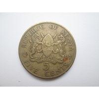 Кения. 5 центов 1967. 5
