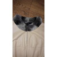 Курточка кожа деми размер 46.