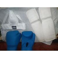 Снаряжение для тайского бокса, всё в идеальном состоянии
