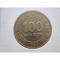 100 Сол 1980 (Перу)