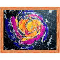 Картина акрилом Галактический водоворот