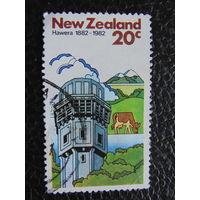 Новая Зеландия 1982г. Архитектура. Флора.
