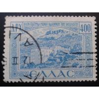 Греция 1950 античные развалины