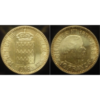 10 франков 1966 г Монако