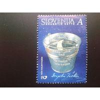 Словения 2001 отражение месяца в ведре