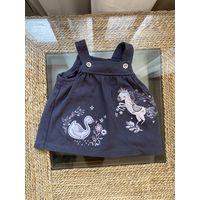 Платье, сарафан для куклы высотой 45-50 см