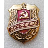 Знак Дружинник. СССР #0623-OP14