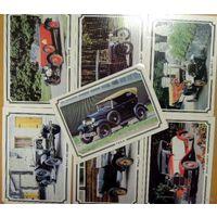 Ретро автомобили. Семь открыток. Издательство Планета. 1988 г.