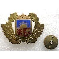 Кокарда Латвии военная