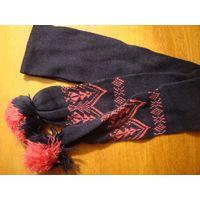Комплект детский шарф шапка