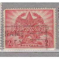 Австралия  Окончание Второй мировой войны - МИР 1946 год  лот 5